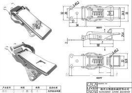l供应【厂家直销】不锈钢保险锁扣 量大从优 价格实惠