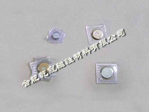 PVC磁扣、單麪包膠磁鐵、壓膜強力磁鐵