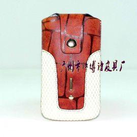 时尚抽拉手机袋 彩印手机包 卡通手机袋