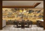 酒店大堂墙纸定制清明上河图壁画中式背景墙壁纸