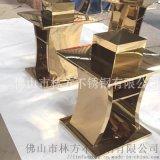深圳不鏽鋼酒店傢俱定製  酒店垃圾桶酒櫃直銷