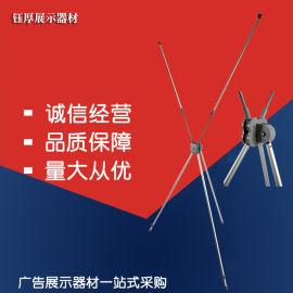 厂家直销X齿轮展示架铝合金展架出口品质