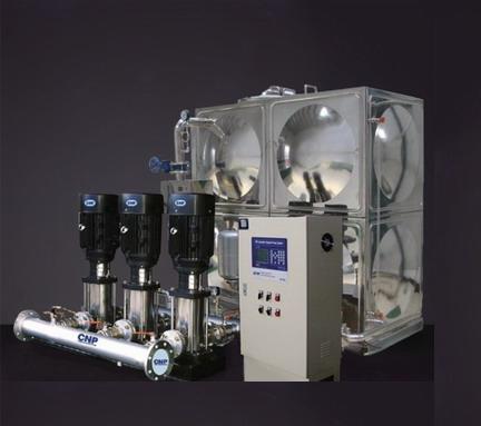 箱式變頻增壓箱泵一體化給水設備