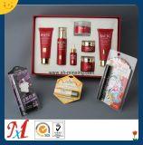 上海护肤洗护化妆品托盘,PVC,PS植绒吸塑,高档礼盒植绒内托