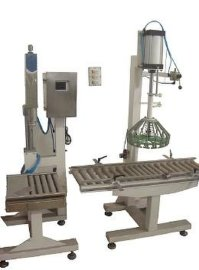 半自动液体自吸灌装机,卧式气动液体灌装机