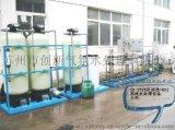 苏州创新CX-2吨/小时一级RO反渗透+EDI 电再生除盐水工艺超纯水系统
