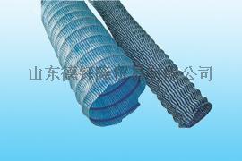 山东莱芜供应高碳钢丝PVC隧道地下排水软式透水管250mm