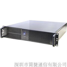 深简捷办公通信IP电话交换机C8X, 支持8路外线, 移动办公BYOD