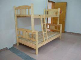 厂家直销 实木双层床 1.2 1.5米子母床 高低床 杉木上下床学生床