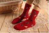 秋冬拉毛加絨加厚 女士純棉襪 冬天保暖運動全棉毛巾小鞋子襪子