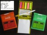 厂供新奇特计算器 便签本计算器 太阳能计算器 多功能计算器 带笔 带日历 带便签本 八位数显 满足日常四则运算
