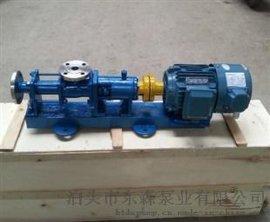 自产自销 G25-1不锈钢食品泵 螺杆泵 浓浆泵 污泥泵 东森泵业现货供应