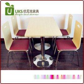 更便宜质量更好的快餐桌椅 厂家定做 自产自销