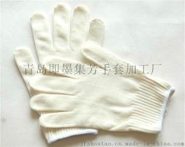 9-13股细纱手套手戴舒服美观可结实耐用长期戴也不会刺痒