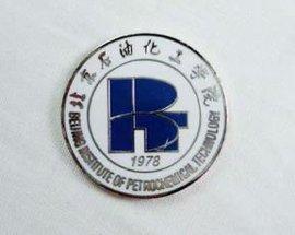 成都锌合金徽章制作重庆品牌烤漆胸章定做规格型号