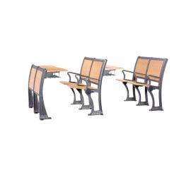 连排课桌椅阶梯教室排椅学生课桌椅排椅 DC-802