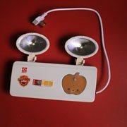 信德电子 厂家直销 新NT消防应急双头灯 新国标消防应急双头灯 应急照明双头灯(N-ZFZD-E5W1037)