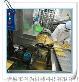 厂家直销食品上糠机 芝麻球上面包屑机 芝麻球团子上屑裹粉机