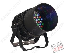 多功能厅剧院54颗3W静音防雨大功率LED影视染色舞台聚光帕灯