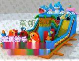 慶陽98平方兒童充氣滑梯廠家 充氣城堡