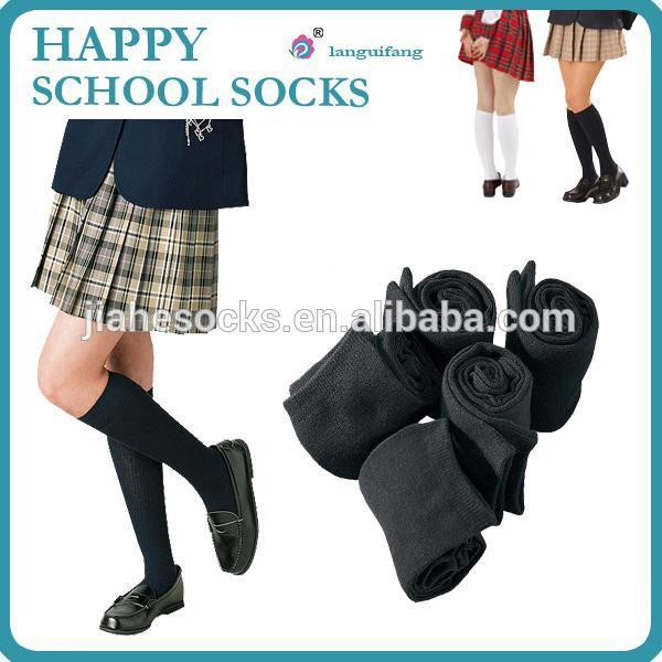 正品蘭桂坊學生襪,長統學生襪,廣州襪子工廠