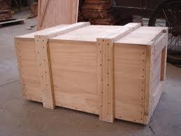 深圳广州出口物流打包免熏蒸胶合板加厚周转木包装箱