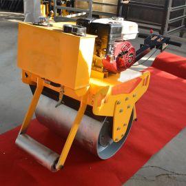 手扶式单轮压路机 小型压路机厂家 单钢轮振动压实机碾压机