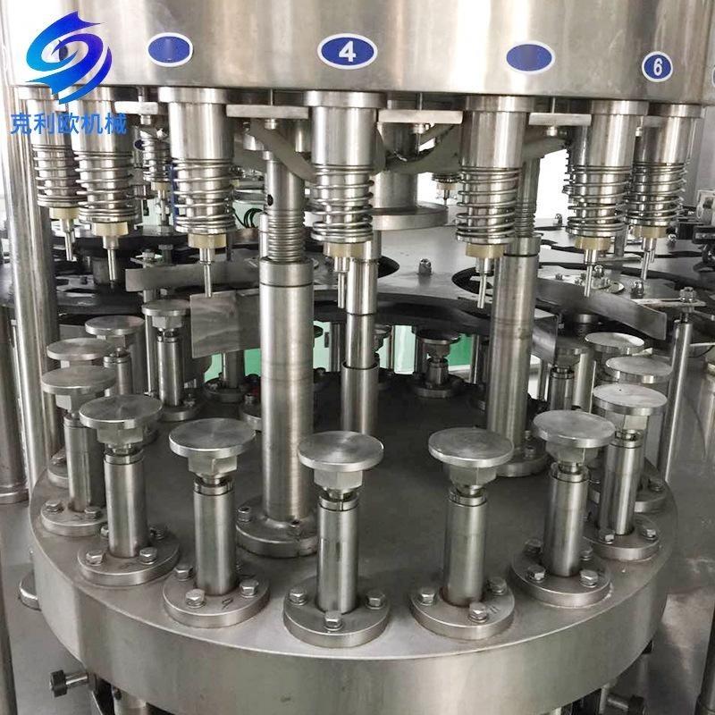 全自动三合一灌装生产线 小瓶矿泉水饮料灌装设备