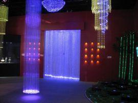 LED三菱光纤灯,光纤吊灯,光纤装饰