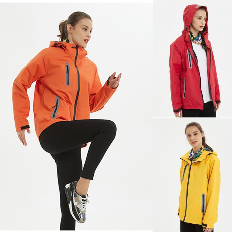 男女单层加绒冲锋衣定制反光防风雨工作服软壳衣棉外套