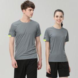 定做夏天户外T恤企业公司圆领POLO文化衫工衣工作服装定制印LOGO
