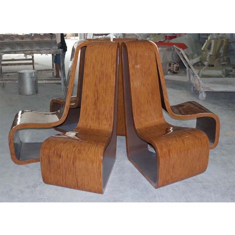 现货玻璃钢休闲坐椅 家庭别墅住宅坐椅 休闲椅定制