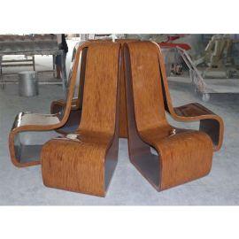現貨玻璃鋼休閒坐椅 家庭別墅住宅坐椅 休閒椅定制