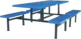 东莞玻璃钢餐桌厂家定做工厂食堂玻璃钢餐桌
