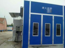 为青岛市客户安装的防雨式烤漆房