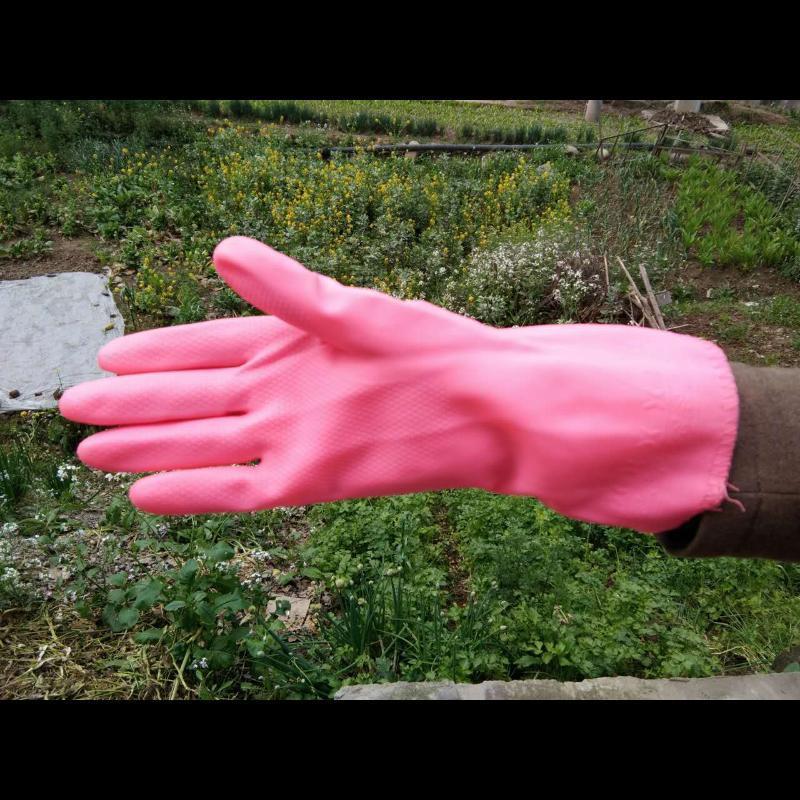 洗衣、饭店洗碗专用PU保暖手套