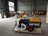 河北省水泥喷浆机施工视频 这台喷水泥砂浆机真给力