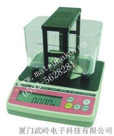 台湾玛芝哈克GP-120M塑料粉末密度计、颗粒密度仪、块状比重计