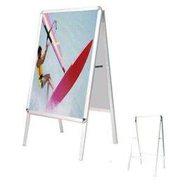 双面海报架 折叠展架 便携式海报架