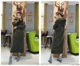 品牌折扣批发羊驼绒大衣外贸女装货源批发销售