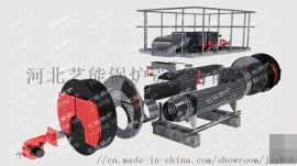 蒸汽锅炉和热水循环泵配合高性能低能耗