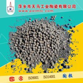 陶瓷陶粒填料 陶粒滤料 高效环保水过滤填料
