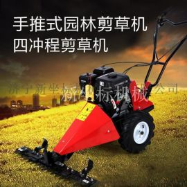手推式割草机 小型农用打草机 果园平地打草机