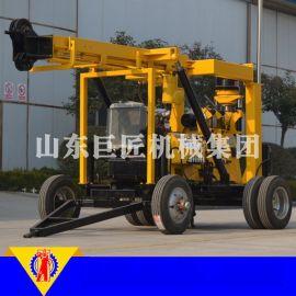 厂家供应XYX-3行走式液压钻井机 拖车式液压水井钻机