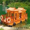 北京畫舫船 餐飲船 旅遊船 木船廠家直銷 服務周到
