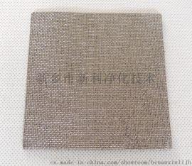 护网烧结毡滤芯工业用金属烧结滤芯滤网环保过滤器生产厂家