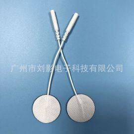 厂家直销圆形3cm无纺布贴片 自粘电极 自粘贴片水凝胶 批发定制