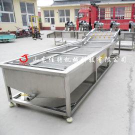 重庆圣女果清洗机 大型气泡果蔬清洗机
