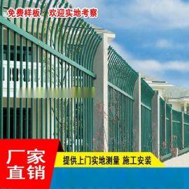 公共汽车站金属栅栏 海南社区防锈合金围栏 三亚**锌钢护栏厂