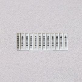eas超市防盗软标签防盗磁条国产DR软标条码软标声磁软标AM标签